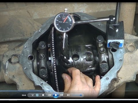 Dodge RAM 1500 Noisy Rear Differential Diagnose and Repair part Three