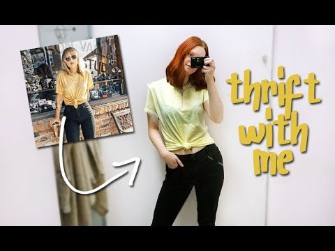 THRIFT WITH ME | WHAT'S ON MY LIST