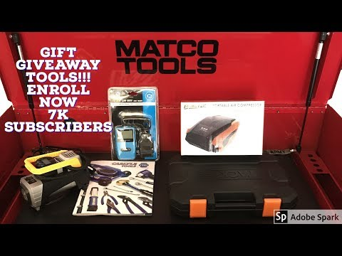 7K Gift Giveaway Some Great Tools