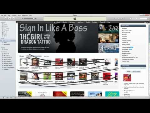 How To Make A Free iTunes Account 2012 (No Credit Card Needed!)