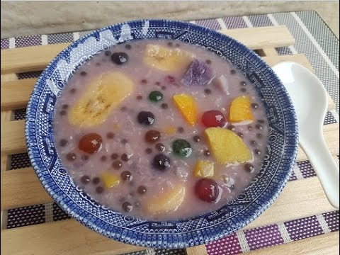 How to cook Ginataang Halo-Halo | Binignit