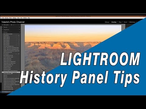 Tips for Working With Lightroom's History Panel