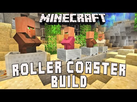 Minecraft Tutorial:  Underwater Roller Coaster Show Scene   (Scarland Coaster Build Ep.32)