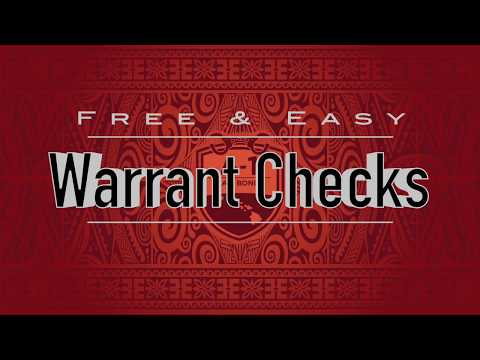 How to perform a warrant / background check in Hawaii