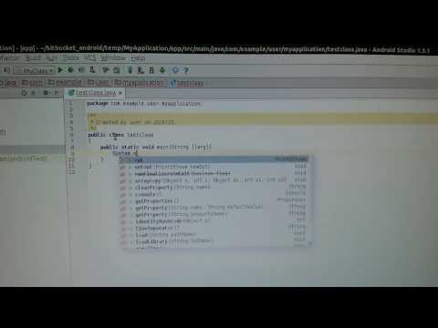 How to run Java programs in Android Studio