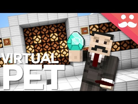 How to Build a VIRTUAL PET in Minecraft!