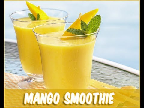 How to make mango smoothie in tamil