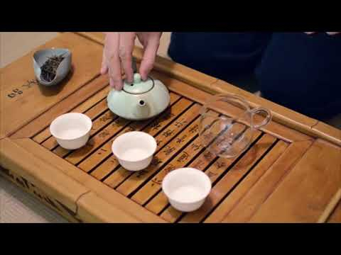 Chinese Tea Ceremony (Example Only, Not Elfin Spaces Product)