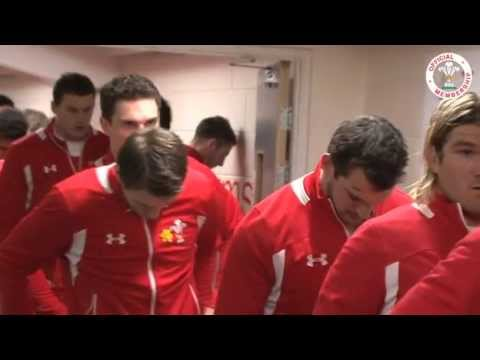 Tunnel Cam: Wales v England 2013   WRU TV