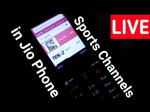 जियो फ़ोन में कौन कौन से स्पोर्ट्स चैनल मिलते है | Jio Phone