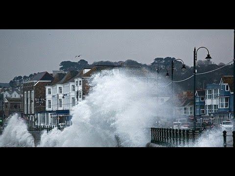 Live Storm Doris hits Blackpool