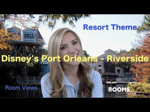 Disney's Port Orleans Resort - Riverside: Theme, Room, Room Views
