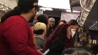Cash Me Outside Girl PUNCHES Airplane Passenger | What