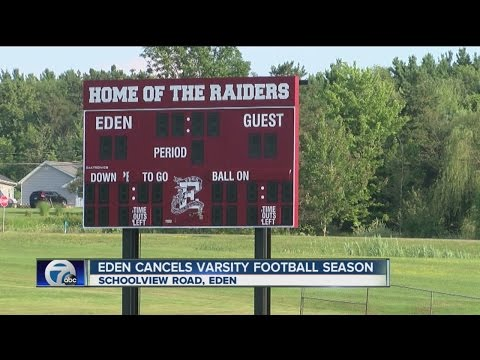 No varsity football in Eden this school year