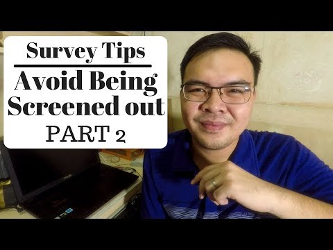 Survey Tips Part 2 for Filipinos -- What to do If points we're not Credited to your account