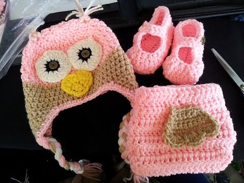 Tutorial How to Crochet a Baby Owl Set Part 1