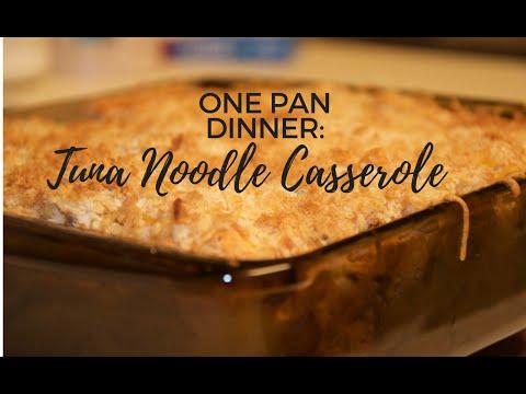 Tuna casserole (Dump Recipe)