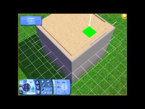 The Sims 3 Tutorial: Thicker Flat Roof