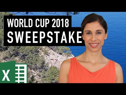 FIFA World Cup 2018 Excel Template for Predictions and Sweepstakes