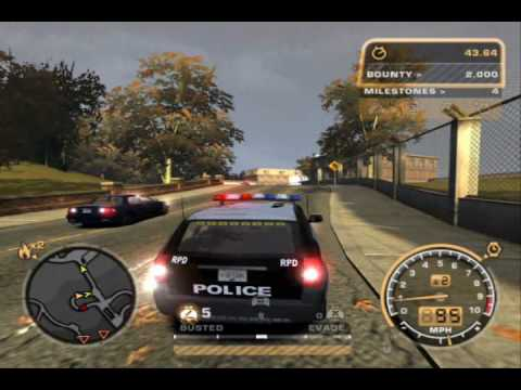 NFS MW: Testing the AI Police Vehicles in Pursuits