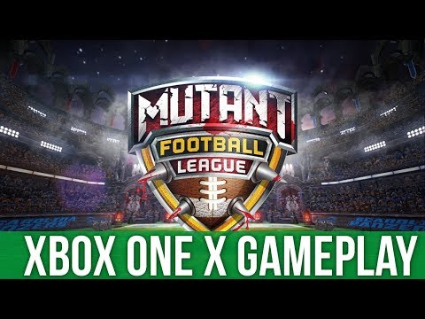 Mutant Football League - Xbox One X Gameplay (Gameplay / Preview)