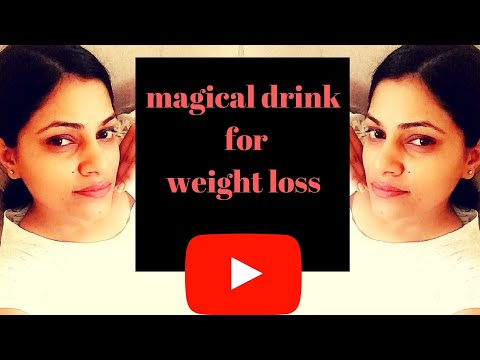 Magical drink for waight loss | apple cider vinegar|morning drink