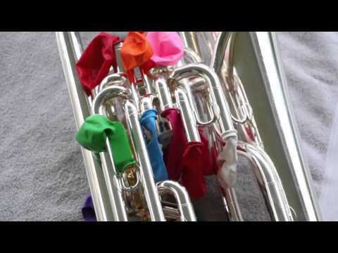 How to Clean a Brass Instrument (with balloons!)