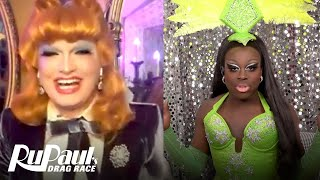 The Pit Stop S5 E5 | Bob & Jinkx Monsoon Recap Snatch Game | RuPaul's Drag Race All Stars