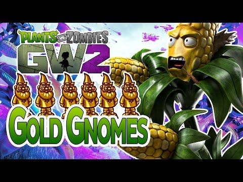 Plants Vs Zombies Garden Warfare 2: Gnome Man's Land Achievement (Gold Gnome Locations)