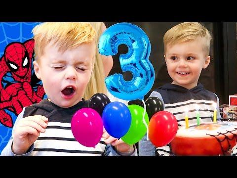 BIRTHDAY BEAN BOOZLED CHALLENGE! | Jackson's Third Birthday Special