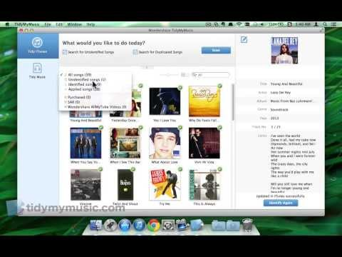 ID3 Tag Editor: How to Fix & Edit ID3 Tags for iTunes Music on Mac In Batch
