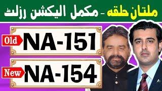 NA-151 (New NA-154) Multan 1 | Pakistan Election Results | Election Box