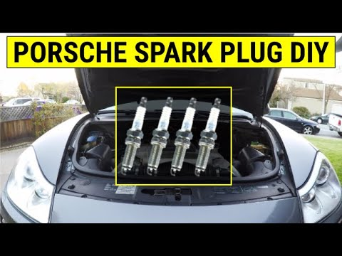 Porsche Cayenne Ignition Coils & Spark Plugs DIY Tutorial (How to)