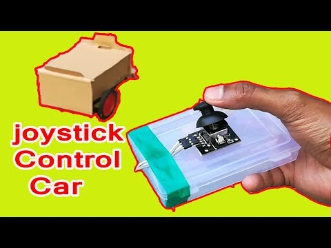 How to make simple joystick remote control rc car at home