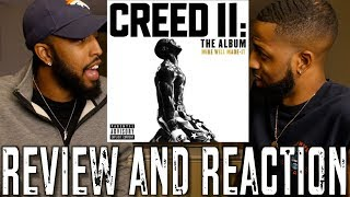 CREED II SOUNDTRACK (PROD. BY MIKE WILL) REVIEW AND REACTION #MALLORYBROS 4K