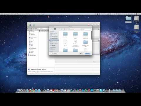 Rename Multiple Files/Folders in Mac OS X