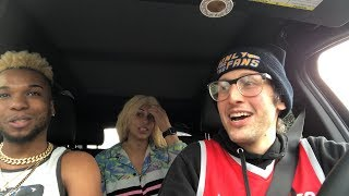 Uber Driver Raps CRAZY For College Kids!