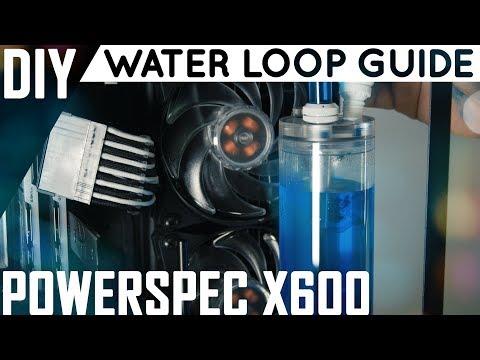 Water Loop Guide | Filling & Adding Dye