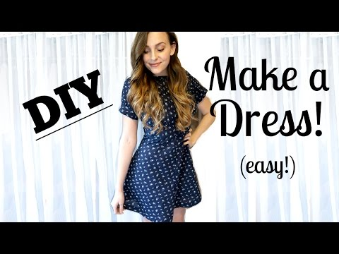 HOW TO SEW A DRESS FROM SCRATCH (EASY!) | Jessica Shaw