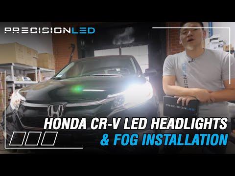 Honda CR-V LED Headlights & Fog lights How To Install - 4th Generation | 2012 - 2016