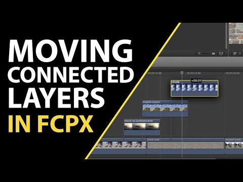 Final Cut Pro X Tutorial: Tips for Moving Individual or Multiple Connected  Clips
