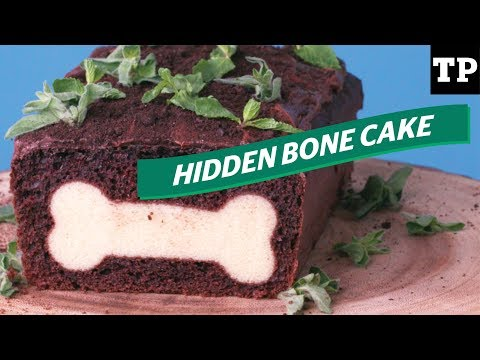 Puppy-themed party: How to make a dog cake with a SURPRISE inside | Eats + Treats