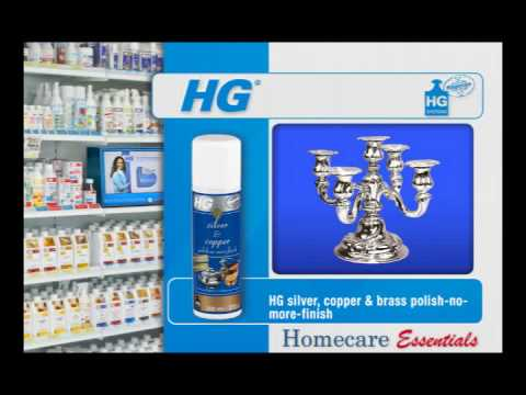 HG Hagesan Silver Copper and Brass Polish No More - Protective finish for Silver, Brass and Copper