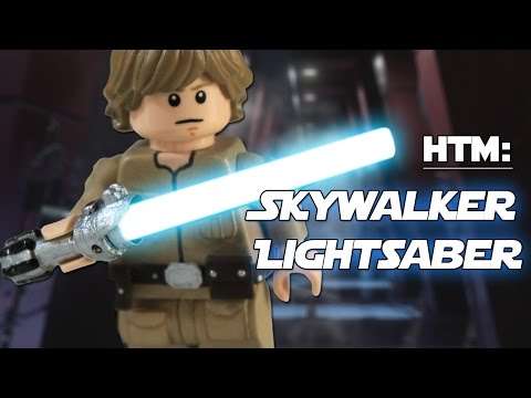 LEGO Customizing Tutorial: How to make the Skywalker Lightsaber