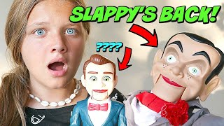 Slappy's Back with Benson From Toy Story! Attack of the Dummies! Goosebumps in Real Life!