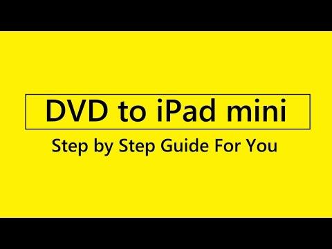 how to rip dvd to iPad mini