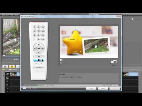 Corel Video Studio Pro X2 Tutorial, Creating a DVD Video Disc