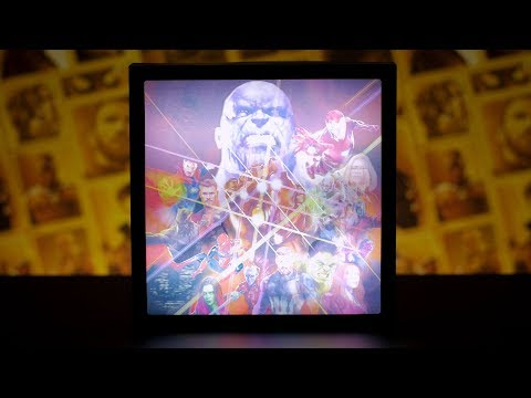 Marvel Avengers Infinity War 3D Luminart | Paladone
