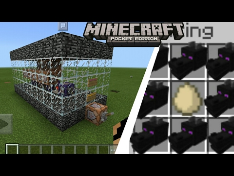 MCPE 1.0.7 How To Get Ender Dragon Spawn Egg Command Block Creation