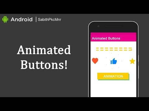 Twitter Heart & Facebook Thumb Buttons | Android Studio 3.0 | Android Libraries Tutorials
